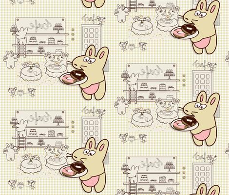 Kato's Cafe2 fabric by kato_kato on Spoonflower - custom fabric