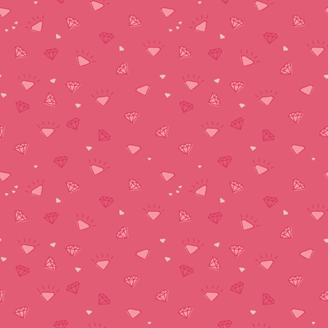 diamonds_pink-01 fabric by owls on Spoonflower - custom fabric