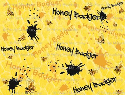 HONEY BADGER SPLATTER