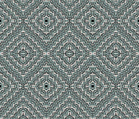 Super Squiggle Teal fabric by whimzwhirled on Spoonflower - custom fabric