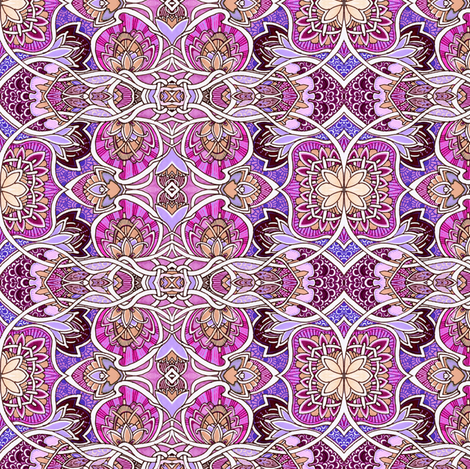 Paisley Fields Nouveau (bigger size) fabric by edsel2084 on Spoonflower - custom fabric