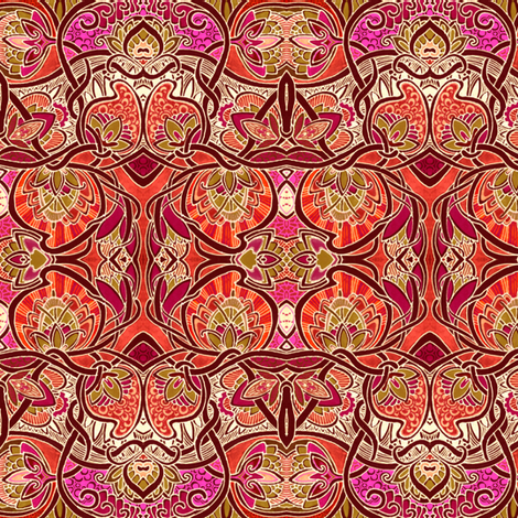 the Burning Bush fabric by edsel2084 on Spoonflower - custom fabric
