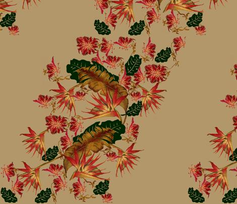 south beach tropic  fabric by paragonstudios on Spoonflower - custom fabric