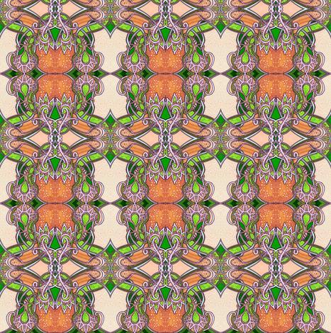 Florida Oranges fabric by edsel2084 on Spoonflower - custom fabric