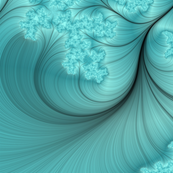 teal_feather_fractal_art