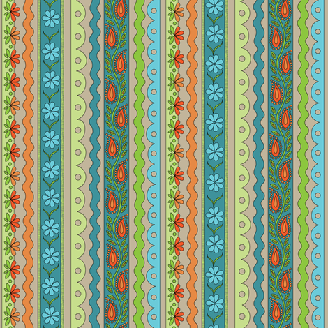 Sewing Trim fabric by wildnotions on Spoonflower - custom fabric