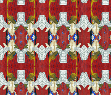 America  Awakens fabric by familypendragon on Spoonflower - custom fabric