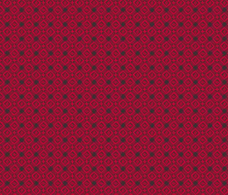 windmill-redblack fabric by glimmericks on Spoonflower - custom fabric
