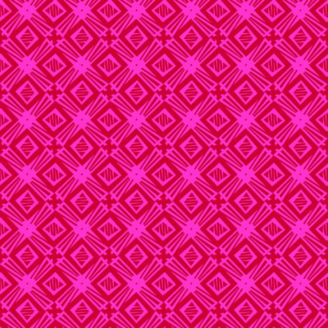 windmill - hot tulip fabric by glimmericks on Spoonflower - custom fabric