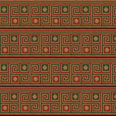 Antique Paper Design Pattern - Page 46 fabric by zephyrus_books on Spoonflower - custom fabric