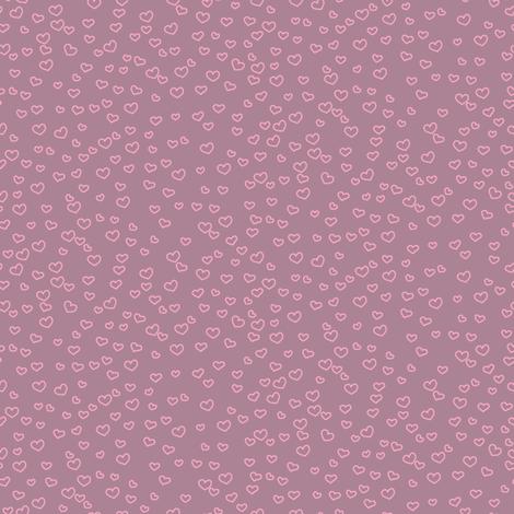 hearts_dusky fabric by owls on Spoonflower - custom fabric