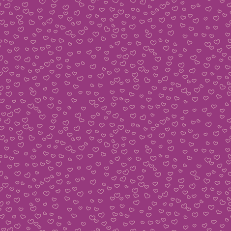 hearts_purple fabric by owls on Spoonflower - custom fabric