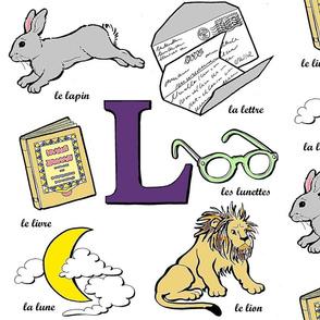 """La lettre """"L"""""""