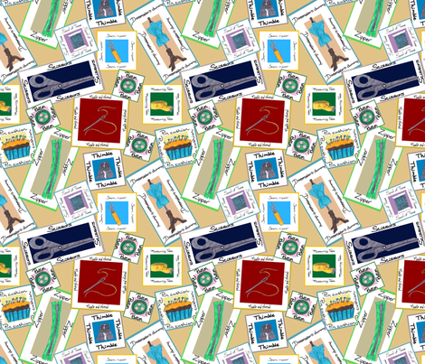 Sewing Tools fabric by brandymiller on Spoonflower - custom fabric