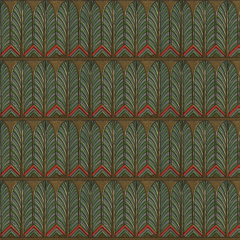 Antique Paper Design Pattern - Page 19 fabric by zephyrus_books on Spoonflower - custom fabric