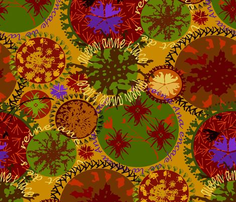 Botanicals fabric by catail_designs on Spoonflower - custom fabric