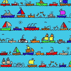 mini fishing boats