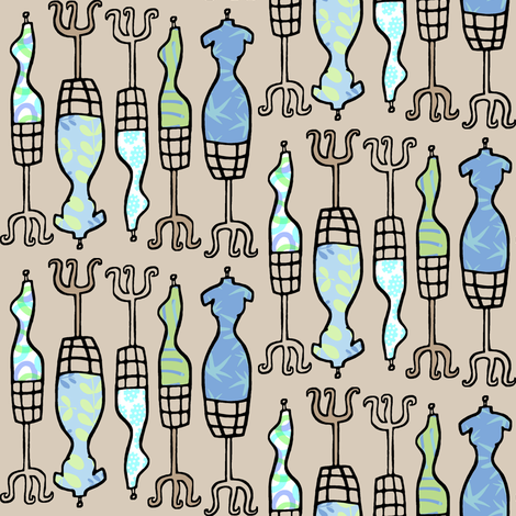 Sew With Me! fabric by pattyryboltdesigns on Spoonflower - custom fabric