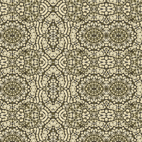 sketchy floral II on bronze 222942 fabric by thatswho on Spoonflower - custom fabric