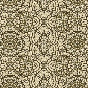 sketchy floral II on bronze 222942