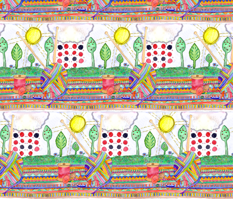 AliPink_2 fabric by wiccked on Spoonflower - custom fabric