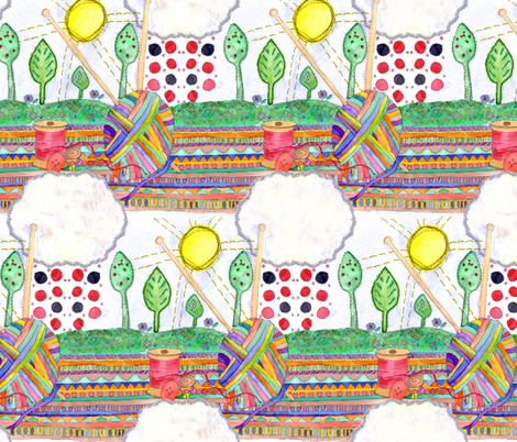 AliPink_5 fabric by wiccked on Spoonflower - custom fabric