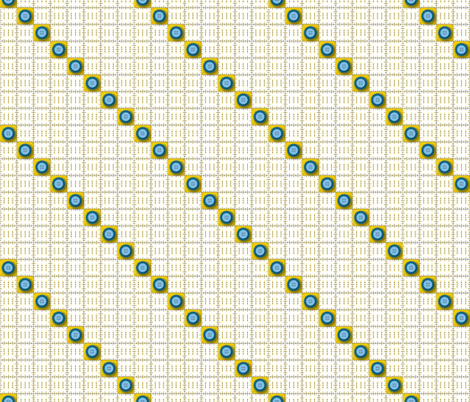 Rulers & Buttons fabric by jjtrends on Spoonflower - custom fabric