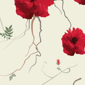 large poppies