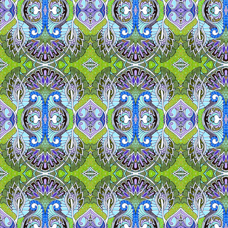 Looking Up to the Angels fabric by edsel2084 on Spoonflower - custom fabric