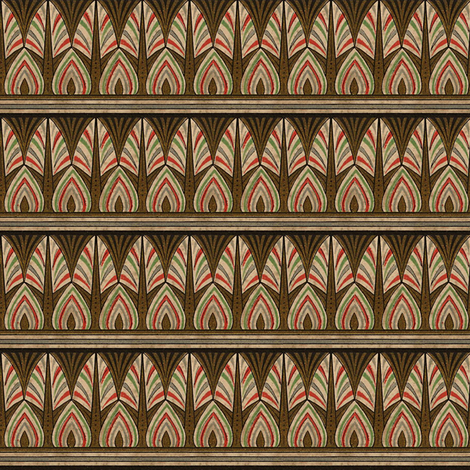 Antique Paper Design Pattern - Page 5 fabric by zephyrus_books on Spoonflower - custom fabric