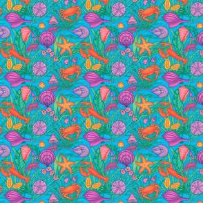 Sea Crustaceans