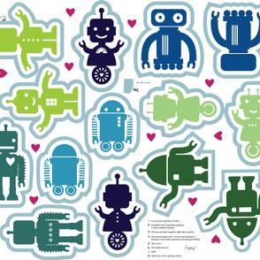 Automated Cuteness Robot Softies