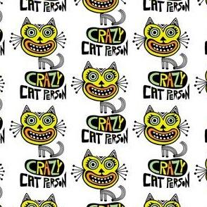 Crazy Cat Person