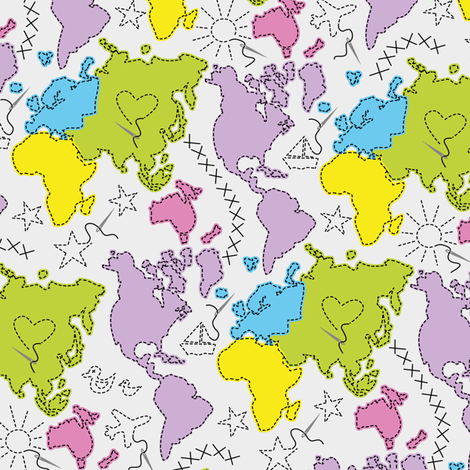 Sewing Unites! fabric by annosch on Spoonflower - custom fabric