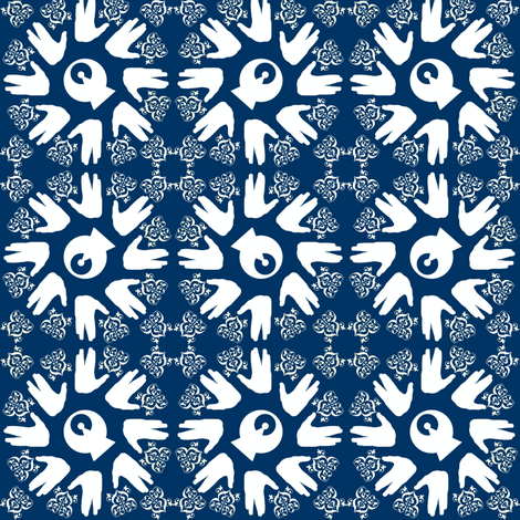 Live Long & Prosper fabric by marchhare on Spoonflower - custom fabric