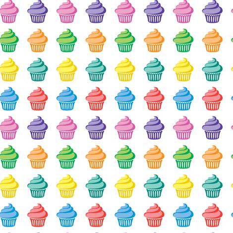Cupcake Parade fabric by andibird on Spoonflower - custom fabric