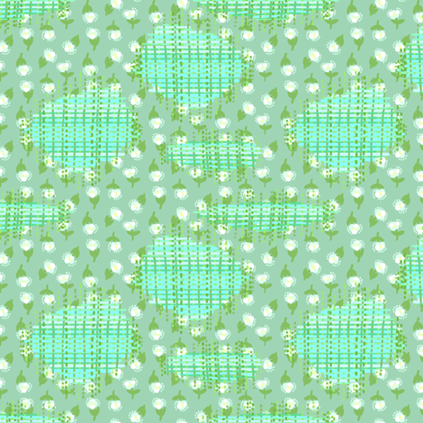 Darn it! fabric by hugandkiss on Spoonflower - custom fabric