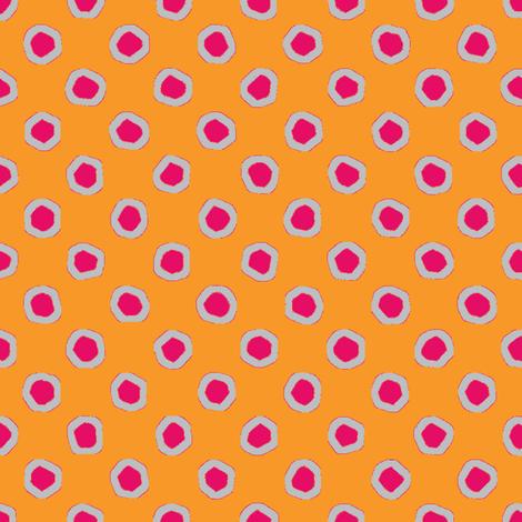 orange cherry fizz fabric by keweenawchris on Spoonflower - custom fabric