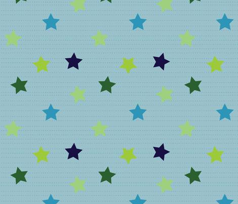 Cuteness Stars Big fabric by jenimp on Spoonflower - custom fabric