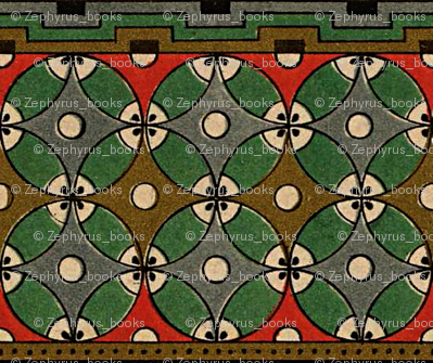 Antique Paper Design Pattern - Page 1