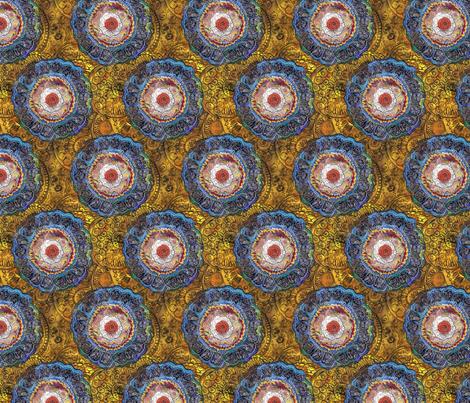 Forget Me Not - Original fabric by peonyandparakeet on Spoonflower - custom fabric