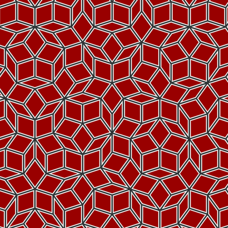Penrose Tiling fabric by stvn on Spoonflower - custom fabric