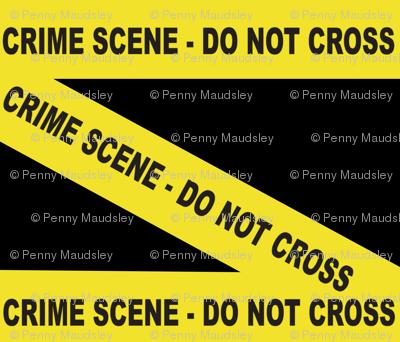 CRIME SCENE-DO NOT CROSS