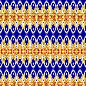 Surprise White Horns on Blue 1-ed