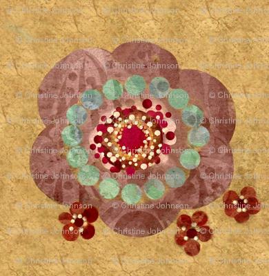 boho flora dragon #3