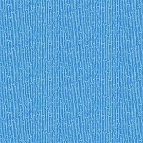 mitochondria blue background