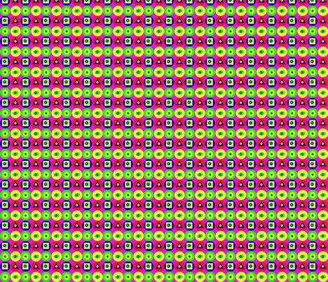 Géométrie pop fabric by manureva on Spoonflower - custom fabric