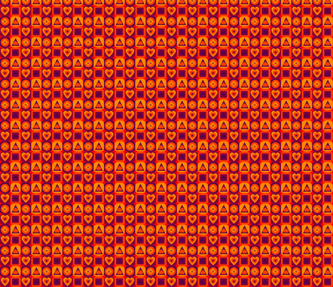 Cartes du soleil fabric by manureva on Spoonflower - custom fabric