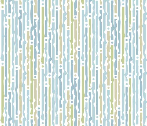 blue_stripes. Curtain motive fabric by belkastore on Spoonflower - custom fabric