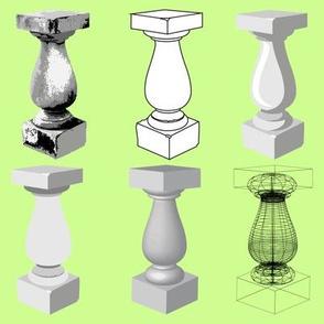 Pedestal Forms